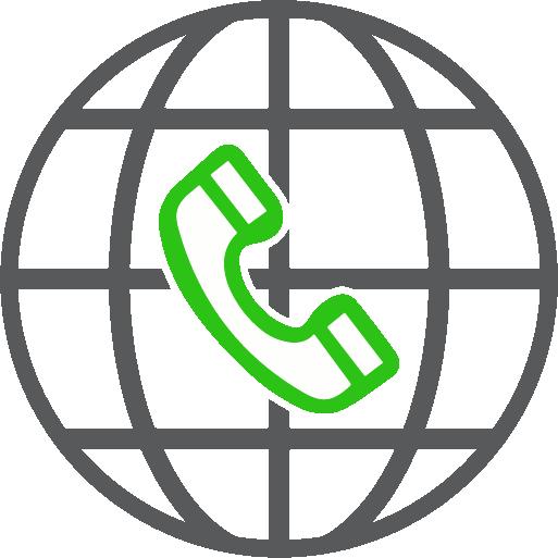 Llamadas internacionales integradas en Central telefónica virtual - Voipocel